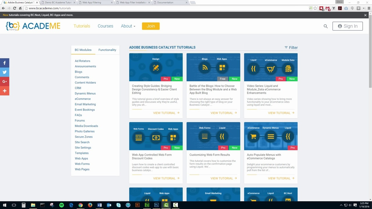 Enhanced web app sorting and filtering adobe business catalyst video thumbnail friedricerecipe Image collections