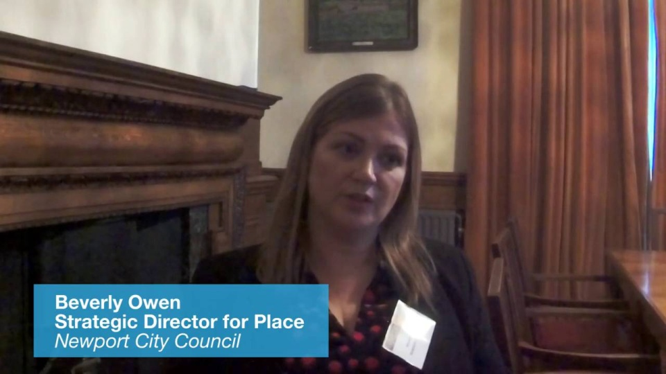 Wistia video thumbnail - Beverly Owen, Newport City Council