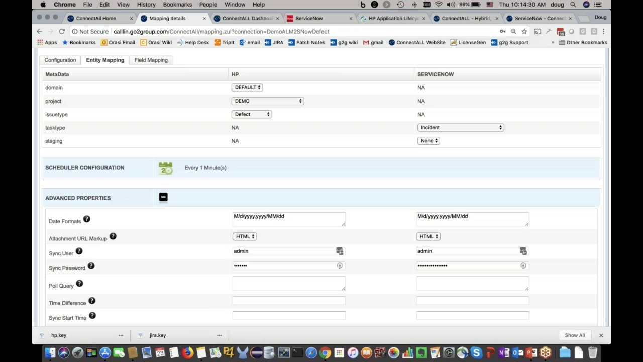 Integrate ServiceNow with Micro Focus ALM using the ConnectALL Integration  Platform