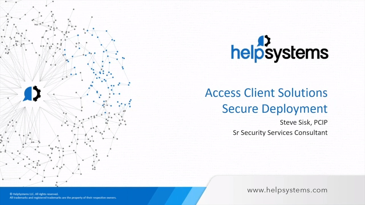 Move From Client Access To Access Client Solutions On Ibm I