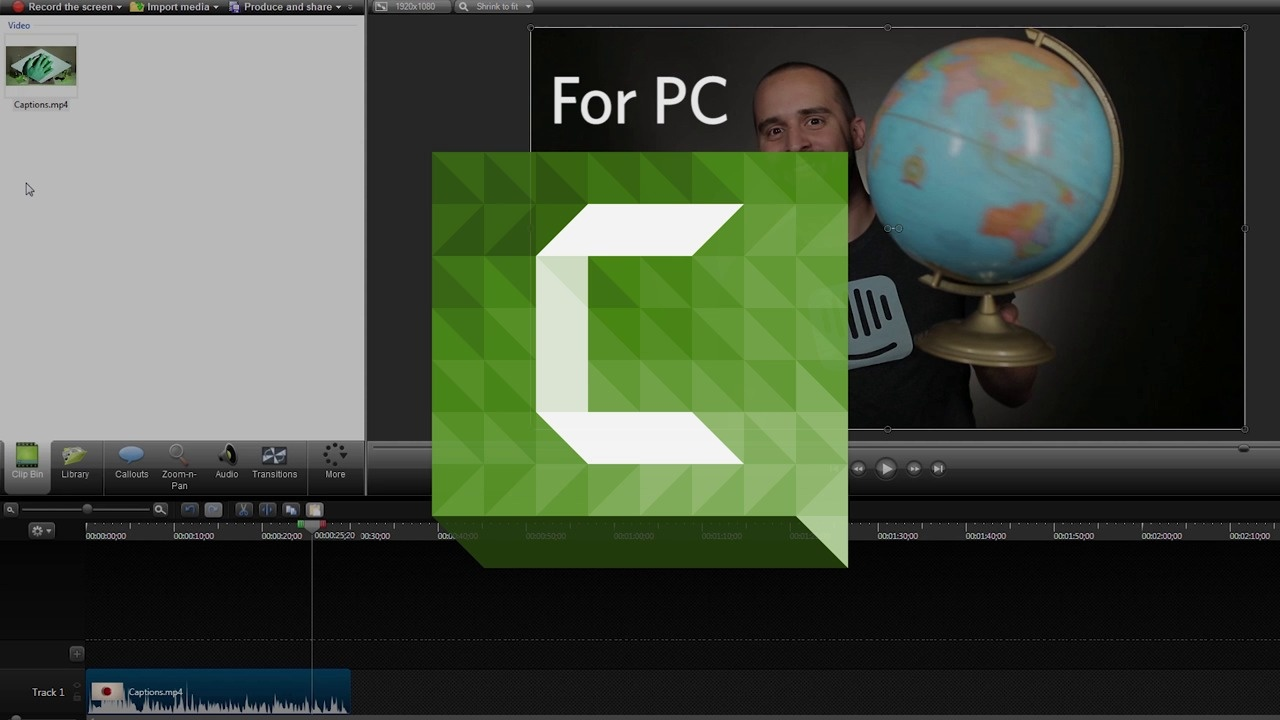 Exporting Guide: Camtasia (PC)