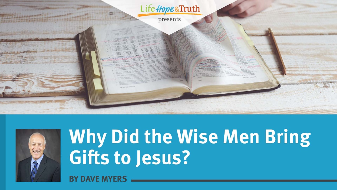 Wistia video thumbnail - Why Did the Wise Men Bring Gifts to Jesus