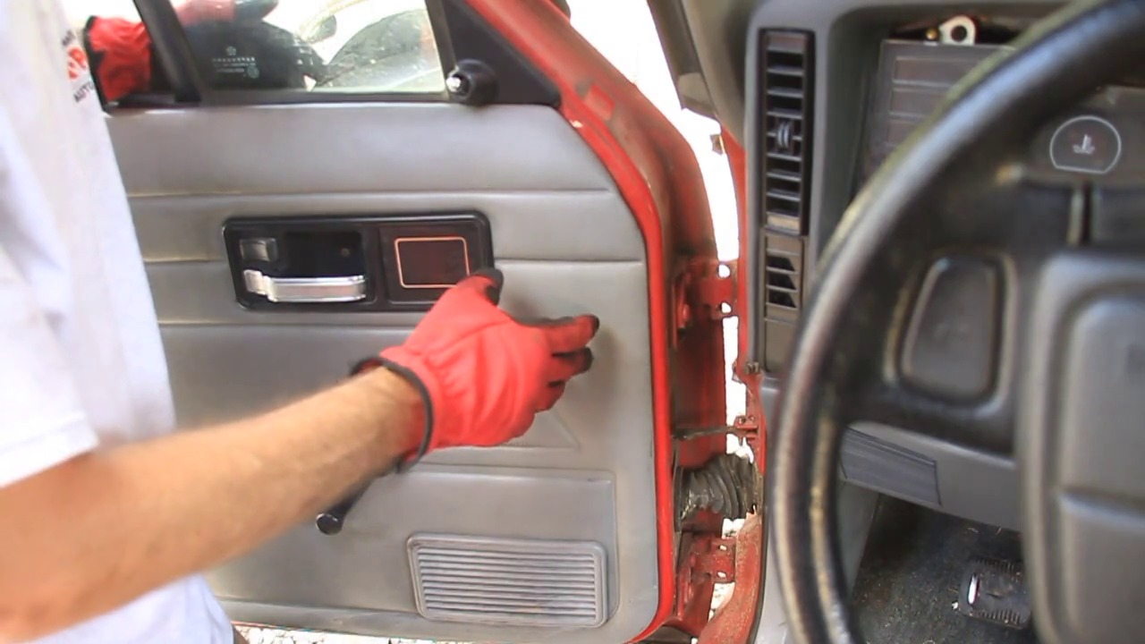 How To Remove A Jeep Door Cherokee 1984 2001 Wiring Hot