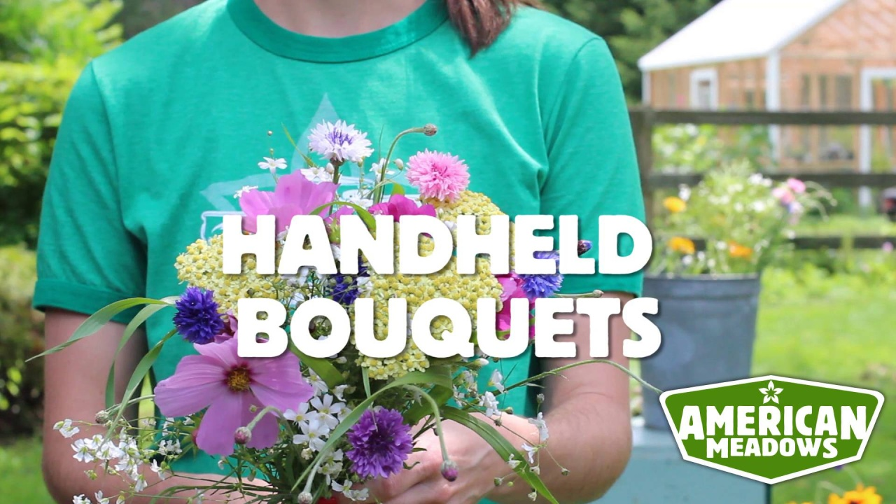 How to create a wildflower bouquet american meadows blog video thumbnail izmirmasajfo