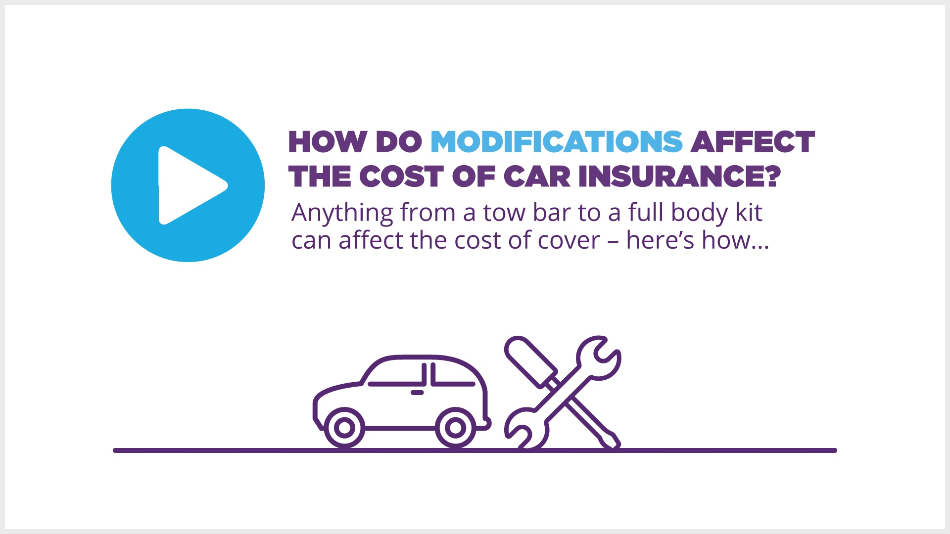 Do modifications affect car insurance? | MoneySuperMarket