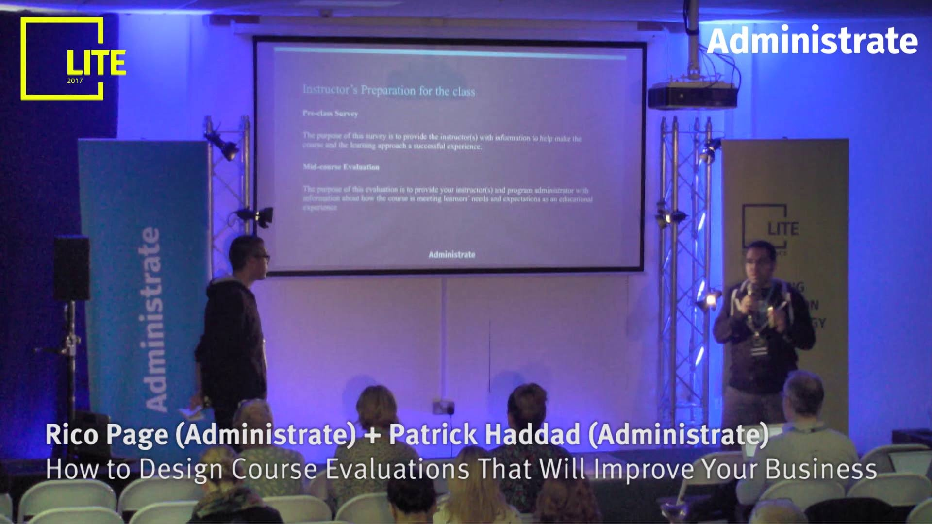 How to Design Course Evaluations That Will Improve Your Business [Rico Page & Patrick Haddad]