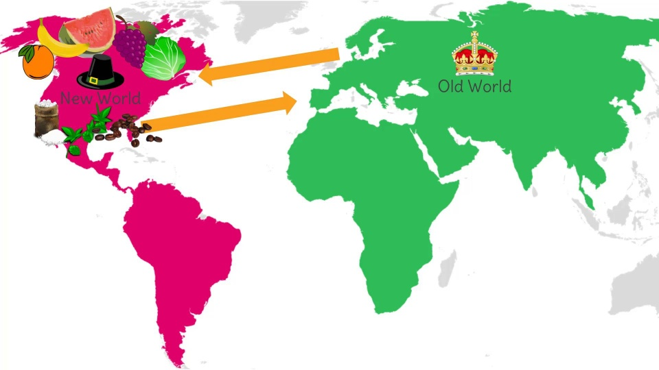 the columbian exchange refers to