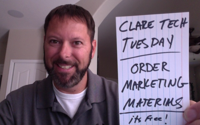 Clare Tech Tuesday: Marketing Materials