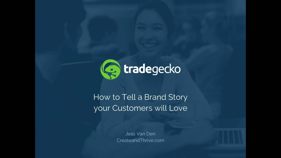Wistia video thumbnail - Webinar: How to tell a brand story your customers will love