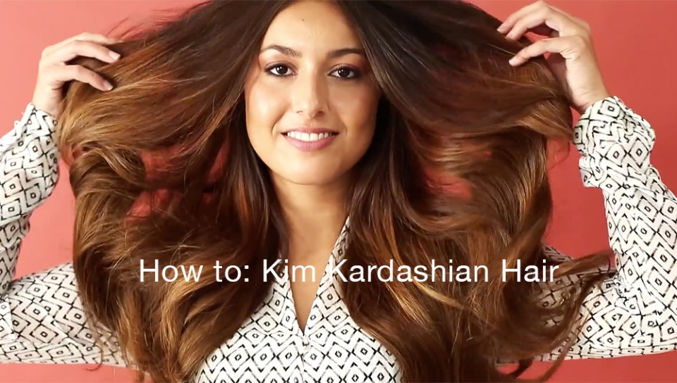 How To Create Two Kim Kardashian Looks With Hair Extensions
