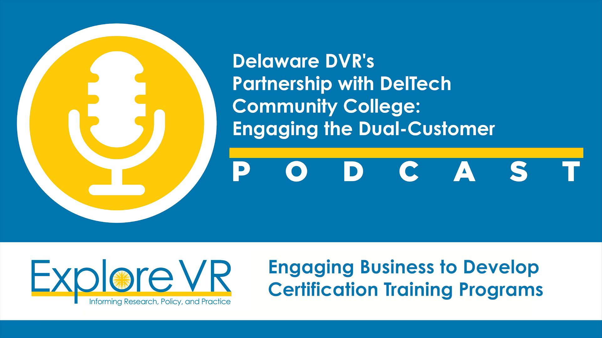 Delaware division of vocational rehabilitation dvr and delaware delaware division of vocational rehabilitation dvr and delaware technical and community college deltech partnership explorevr 1betcityfo Choice Image
