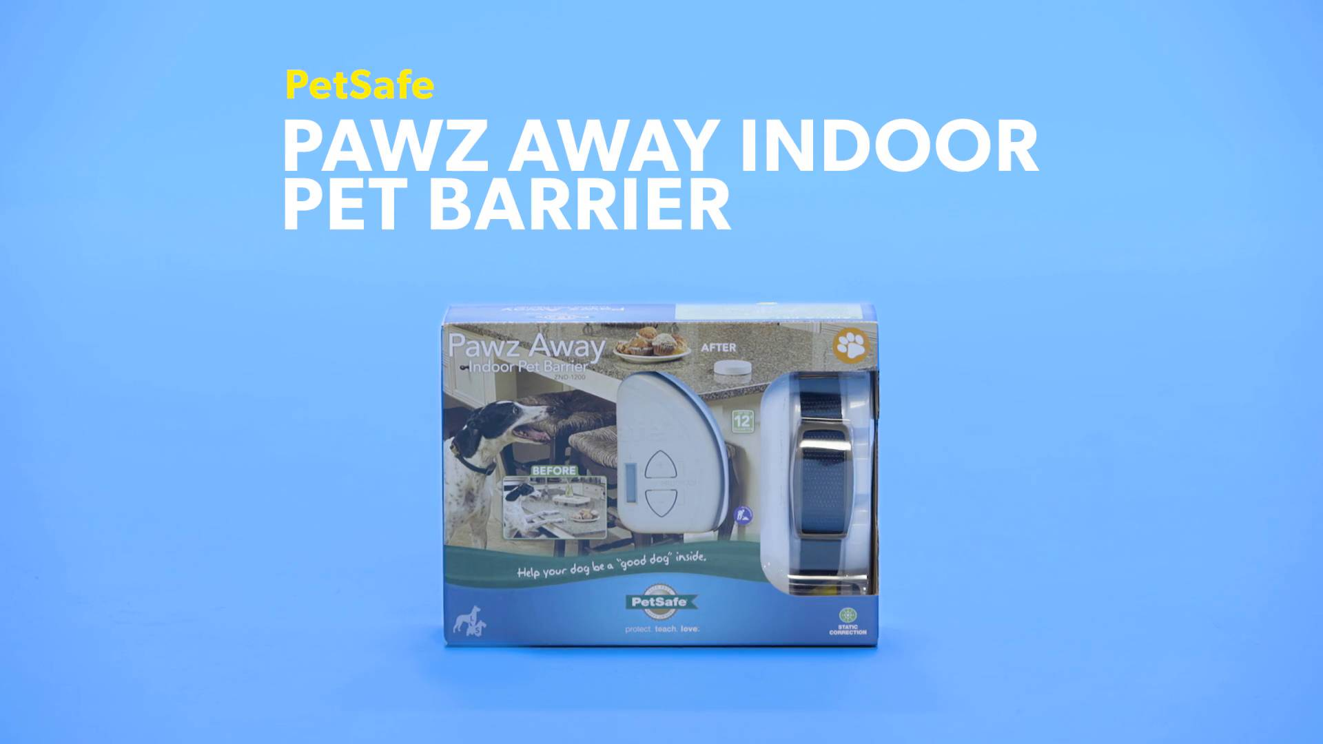 PetSafe Pawz Away Indoor Pet Barrier - Chewy.com