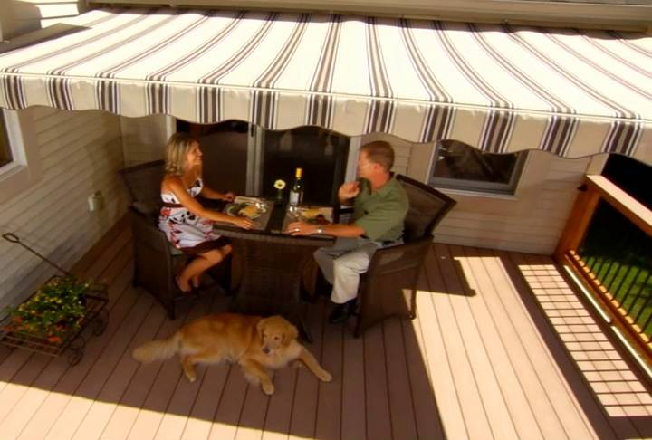 Wistia video thumbnail & SunSetter Awnings - Retractable Deck and Patio Awning