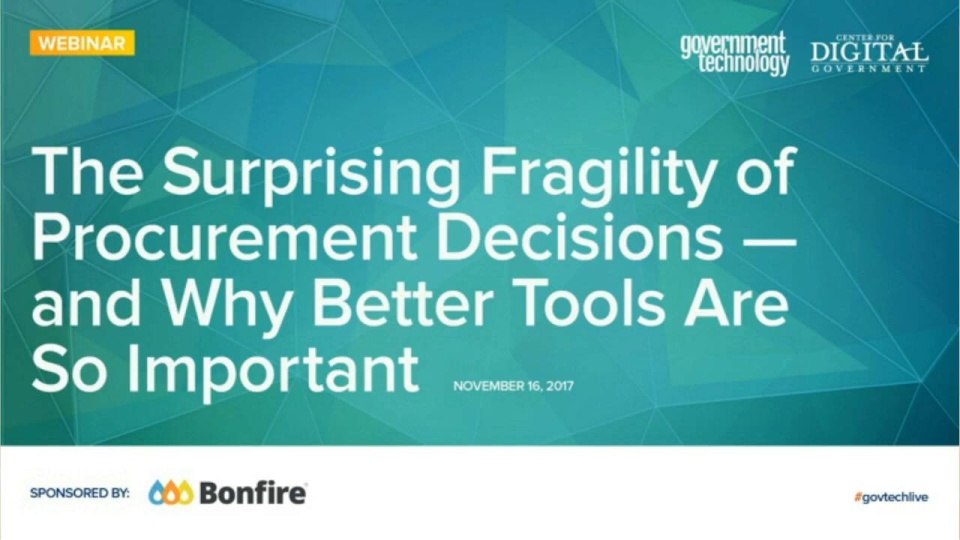 Wistia video thumbnail - The Surprising Fragility of Procurement Decisions