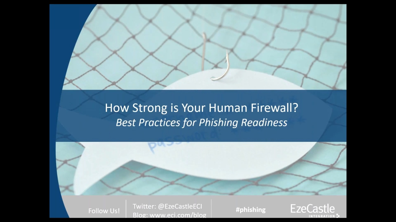 How Strong is Your Human Firewall - Best Practices for Phishing Readiness