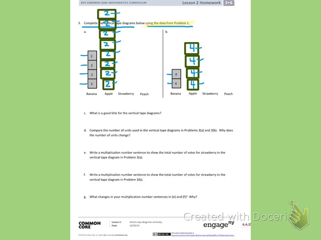 Vertical tape diagram wiring diagram oakdale joint unified school district grade 3 module 6 homework 6th grade math tape diagram vertical tape diagram ccuart Images
