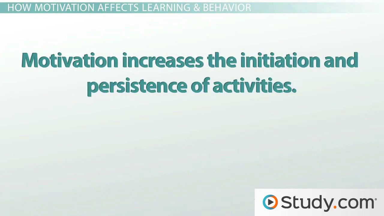 importance of motivation in rention essay Young readers rarely realize the importance of focus and attention in reading the role of motivation in fostering reading comprehension essay introductions.
