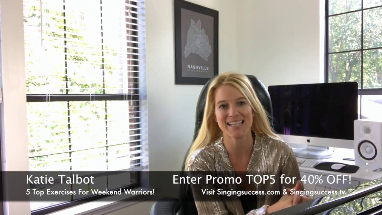 Wistia video thumbnail - Top 5 Exercises For Weekend Warriors or Vocal Strain