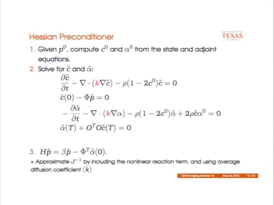 IS16 - MS96-4 - On Preconditioning Newton Method For PDE