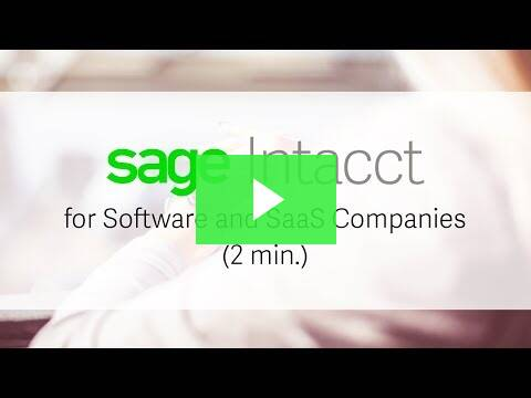 Sage Intacct Product Demo of Contracts