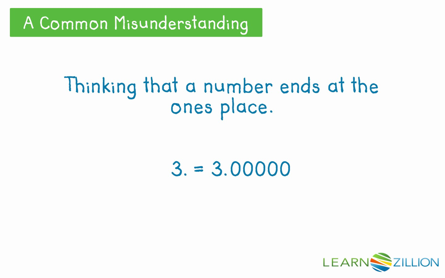 Determine the value of a digit in the thousandths place learnzillion falaconquin