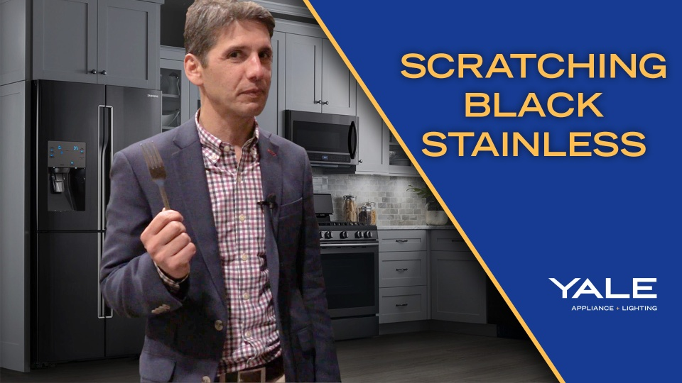 Wistia video thumbnail - Black Stainless Steel Scratch Test