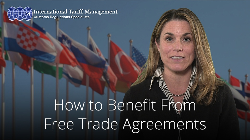 How To Benefit From Free Trade Agreements