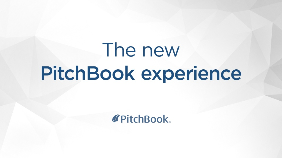 Wistia video thumbnail - The New PitchBook Experience