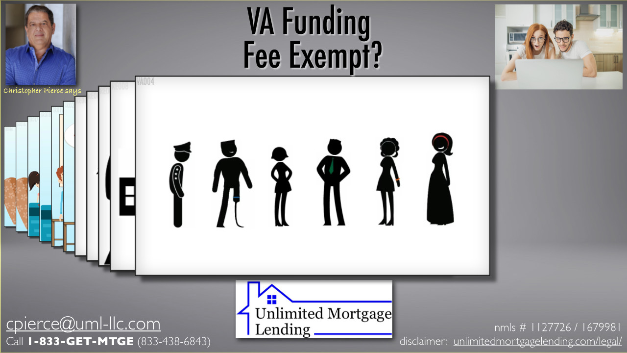 Who Is Exempt From The VA Funding Fee? Unlimited Mortgage Lending