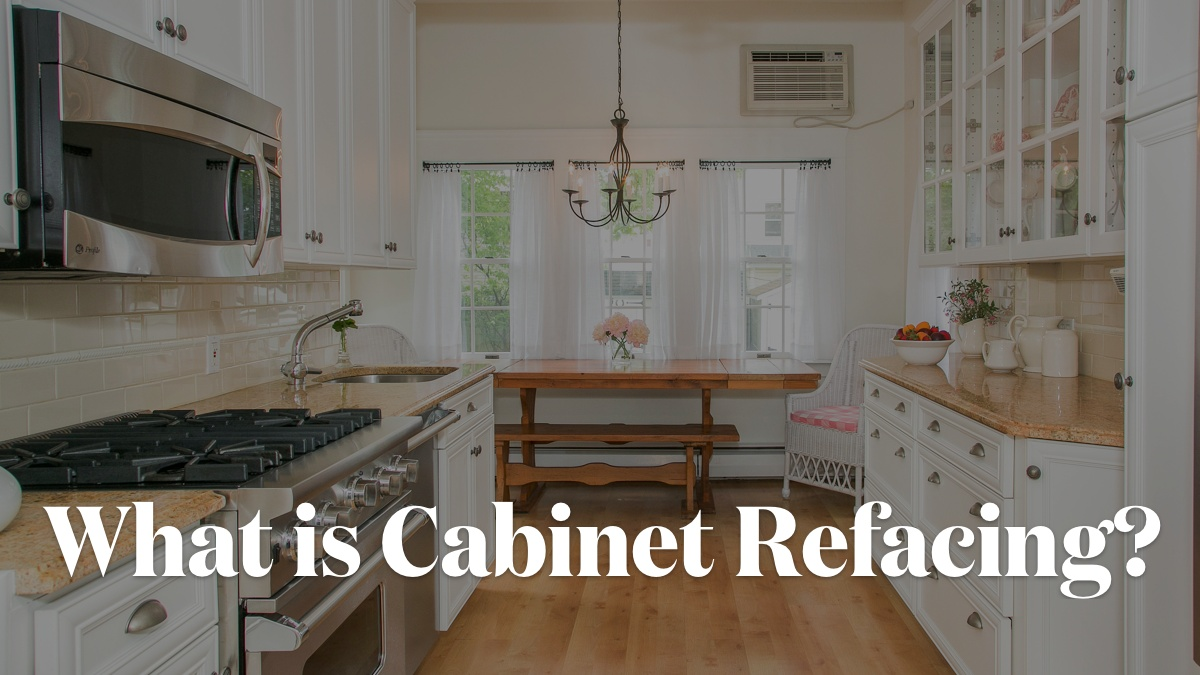Video Thumbnail Kitchen Cabinet Refacing Cabinet