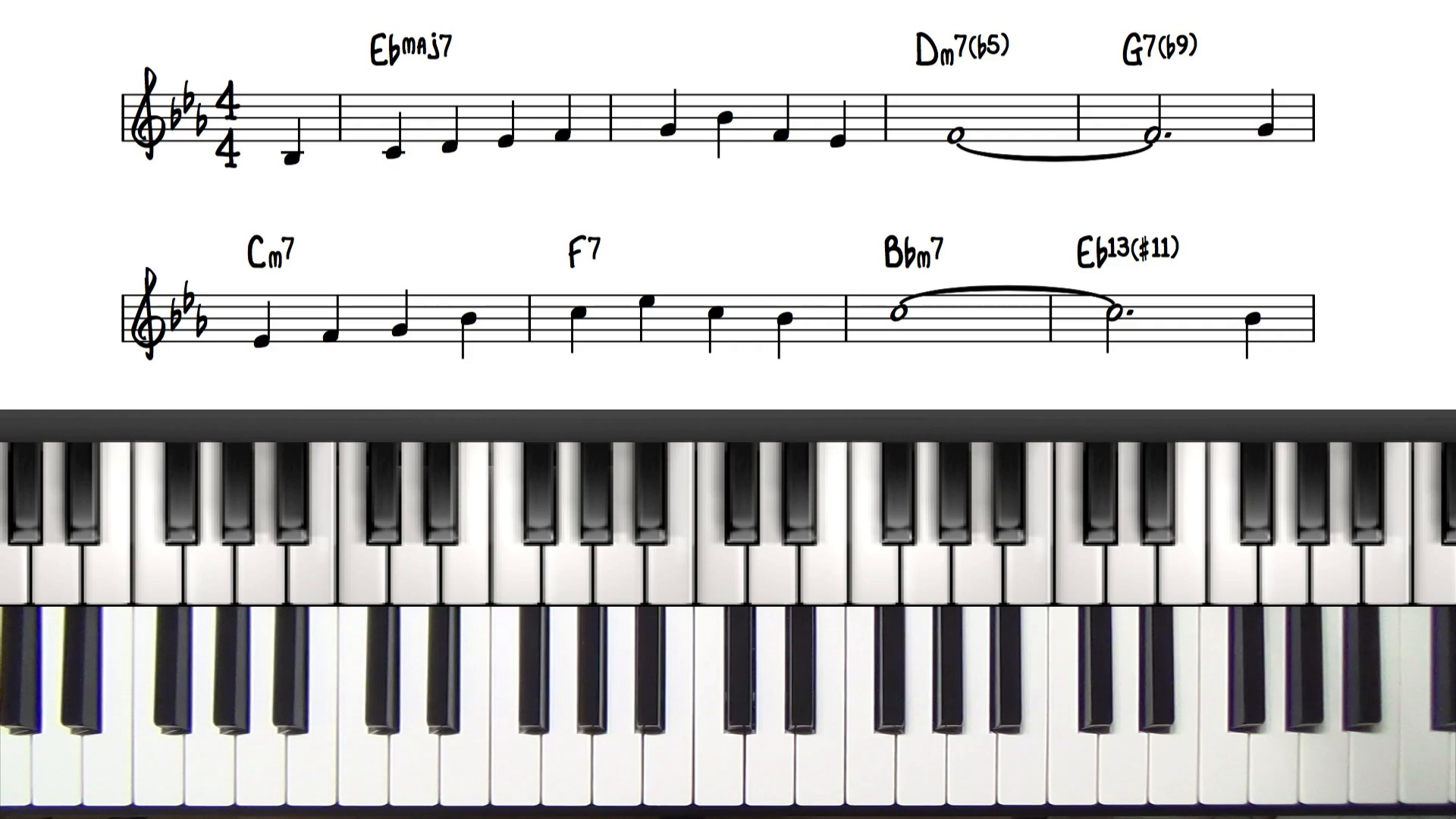 Red garland voicing tutorial red garland block chords lesson hexwebz Image collections