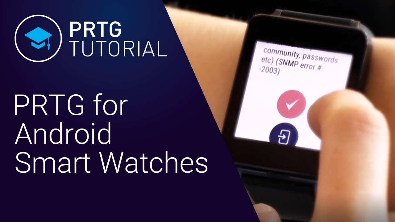 PRTG for Android - Watch App