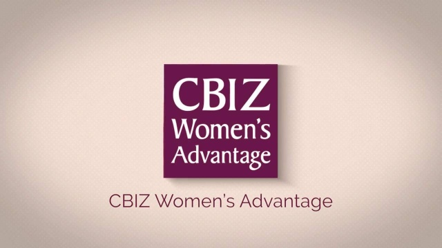Wistia video thumbnail - CBIZ Women's Advantage