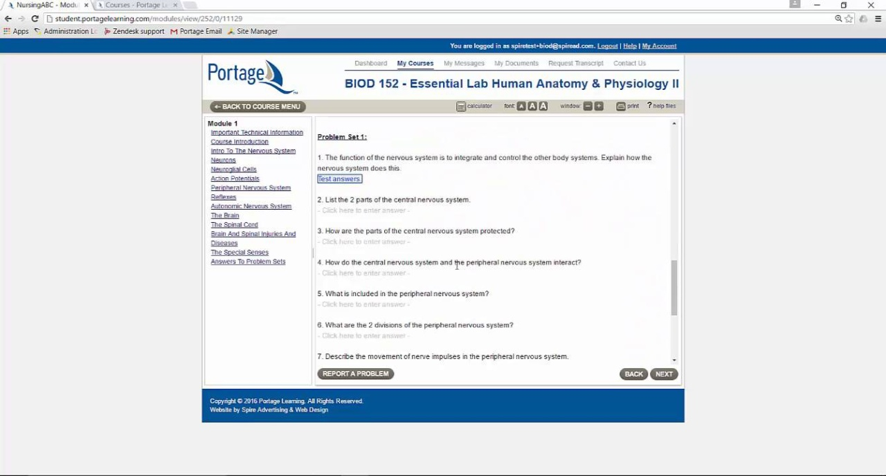 Courses Portage Learning