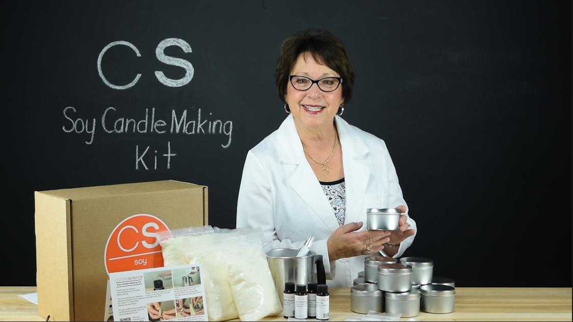 Soy Candle Making Kit Instructional Video Candlescience