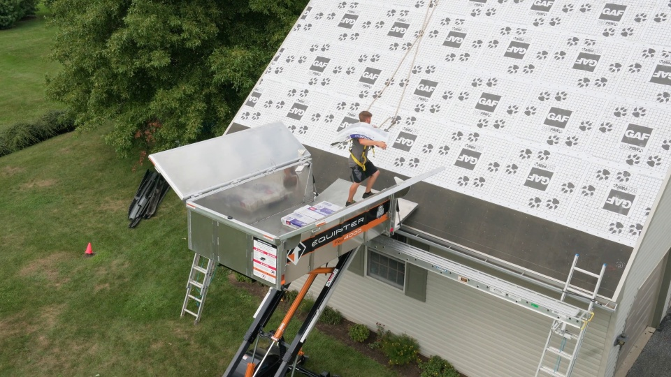 Shingle Lift That Means Business Equipter Rb4000