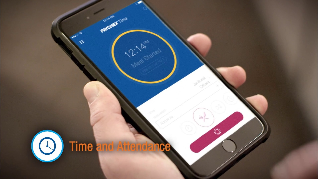 time and attendance with paychex flex