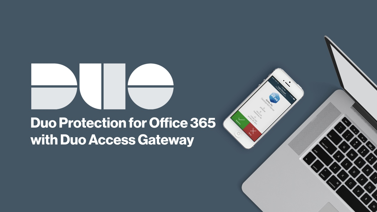 How to Install Duo Protection for Office 365 with Duo Access Gateway
