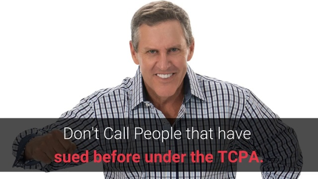 Wistia video thumbnail - Don't call people that have sued before under the TCPA