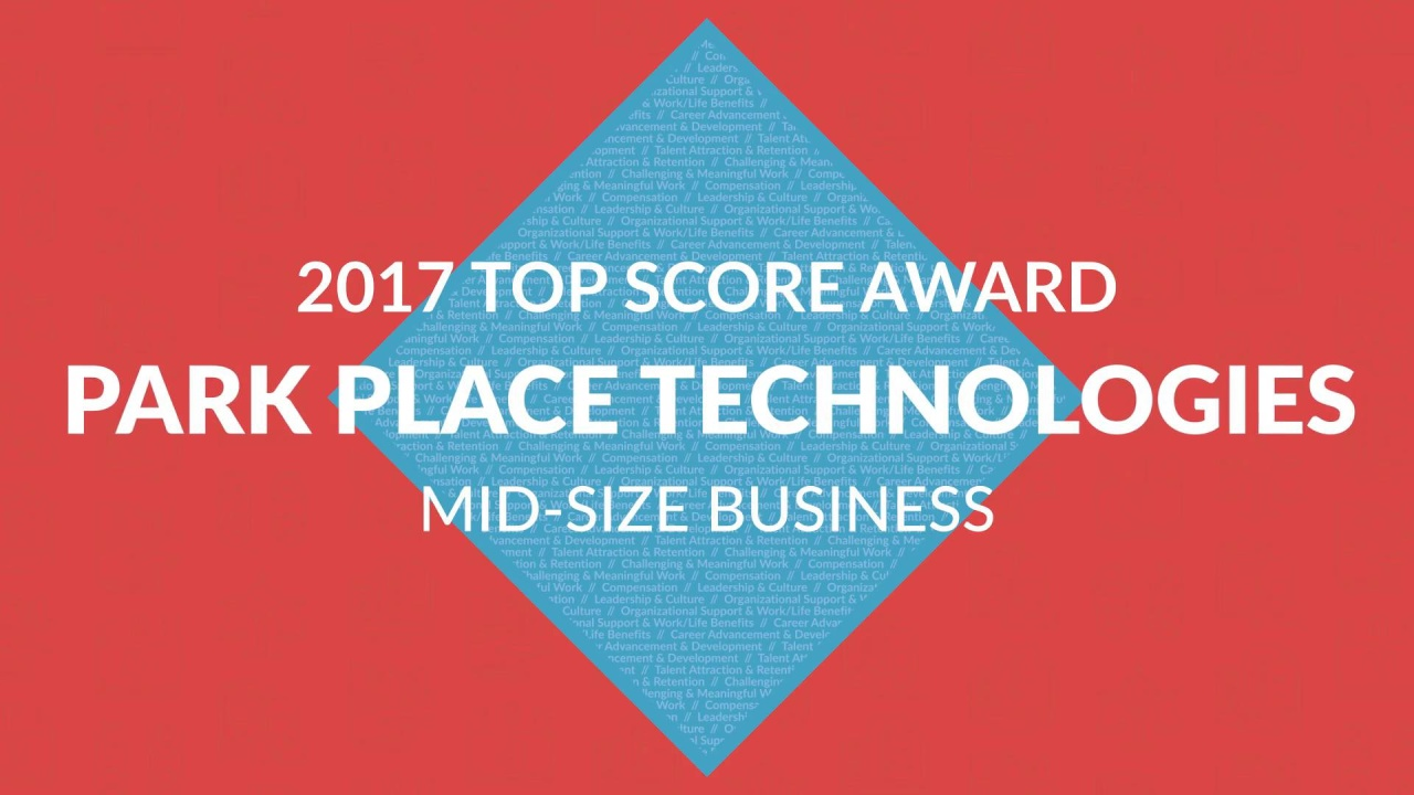 63e0e44429feb Park Place Technologies Continues Status as NorthCoast 99  Best Place to  Work