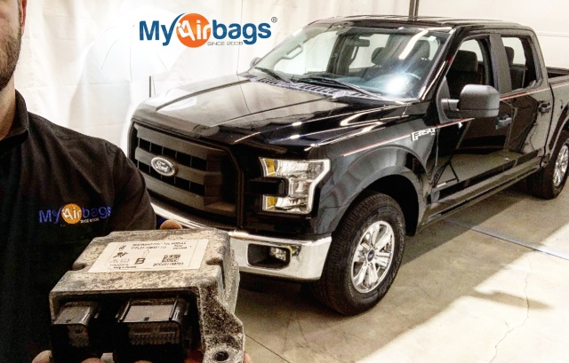 FORD F-150 2016 - HOW TO REMOVE AIRBAG RCM MODULE - MyAirbags com