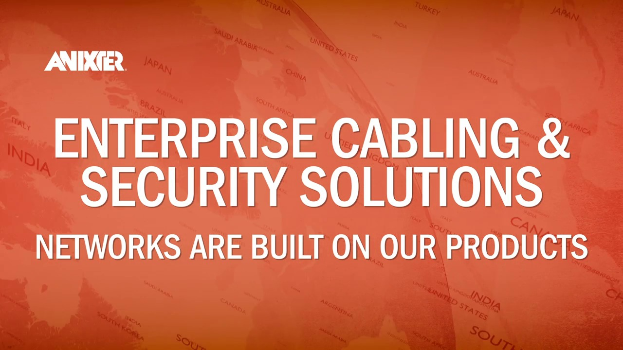 Enterprise Networks | Structured Cabling | Network Cabling | Anixter