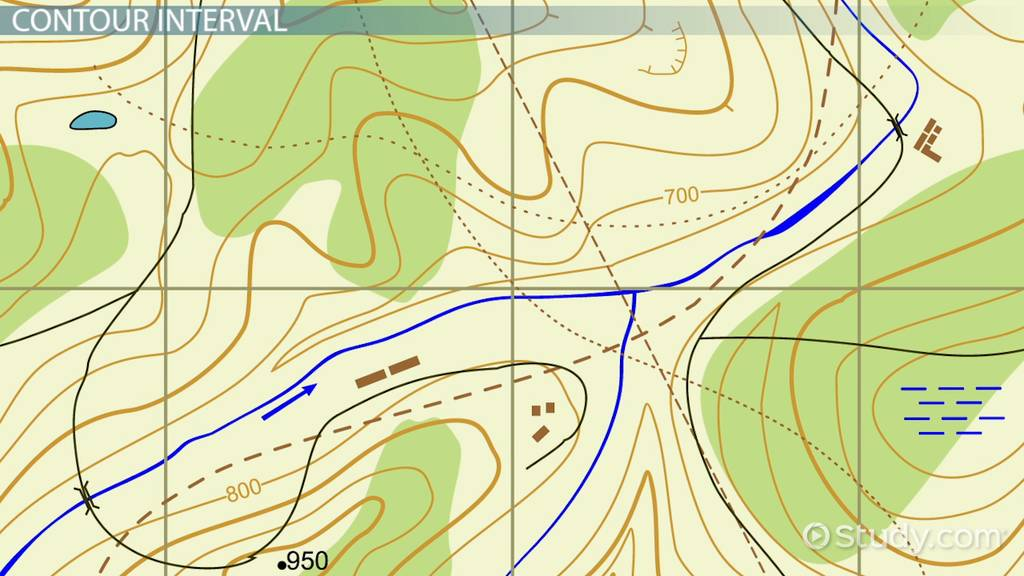What Is A Topographic Map Definition Features Video - Topographical map