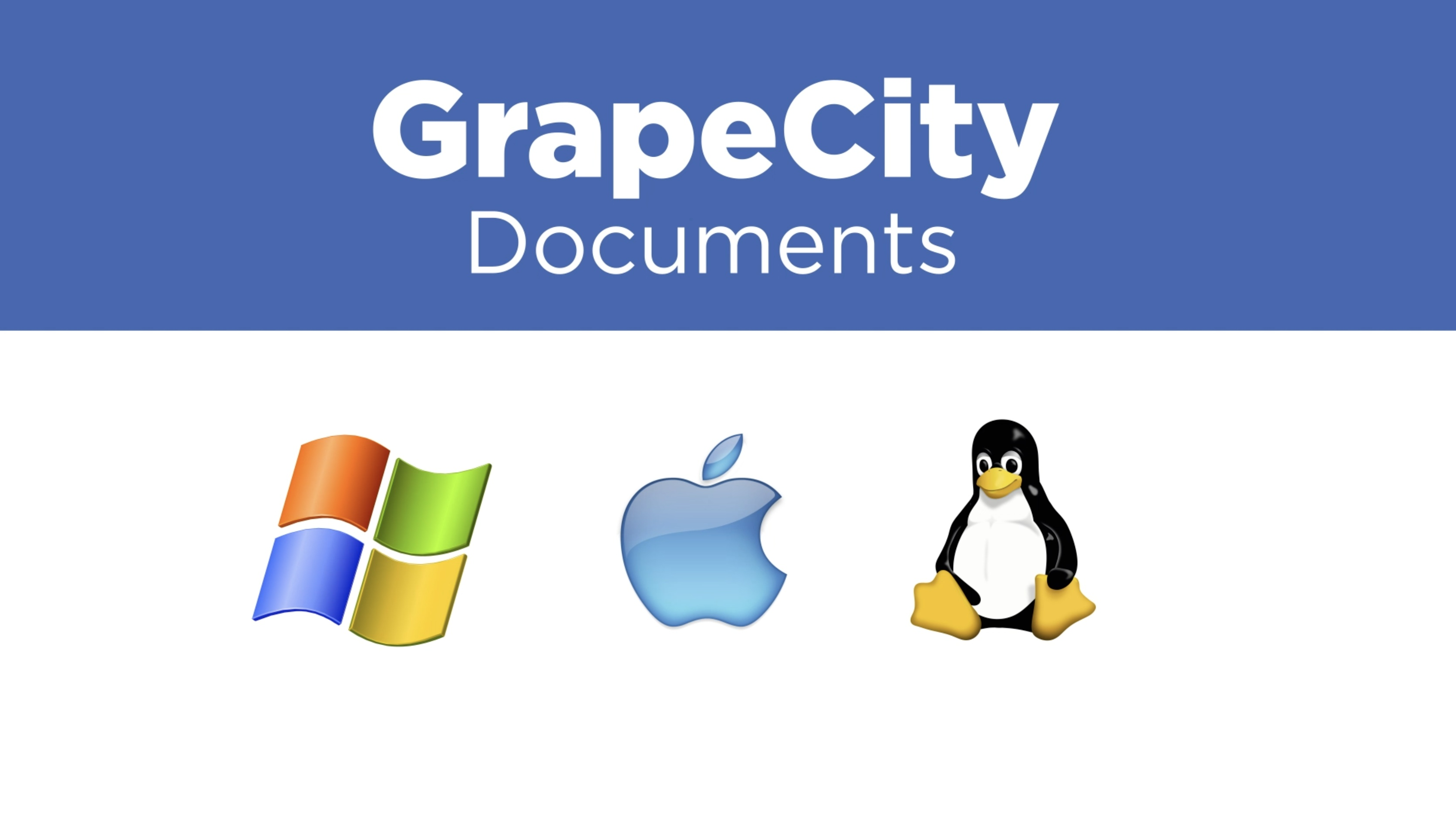 Introducing GrapeCity Documents