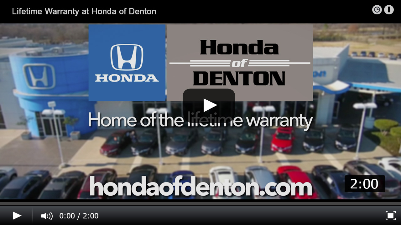 Lifetime limited powertrain warranty at honda of denton solutioingenieria Choice Image