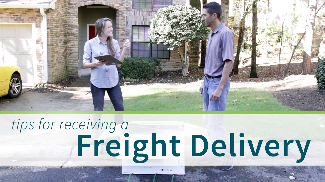 Wistia video thumbnail - Freight Delivery Tips by Sylvane