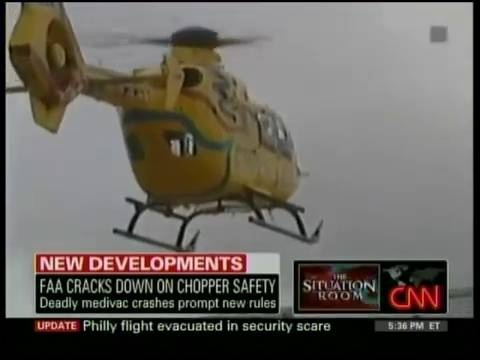 Gary Robb on CNN The Situation Room - New FAA Regulations for Medevac  Helicopters