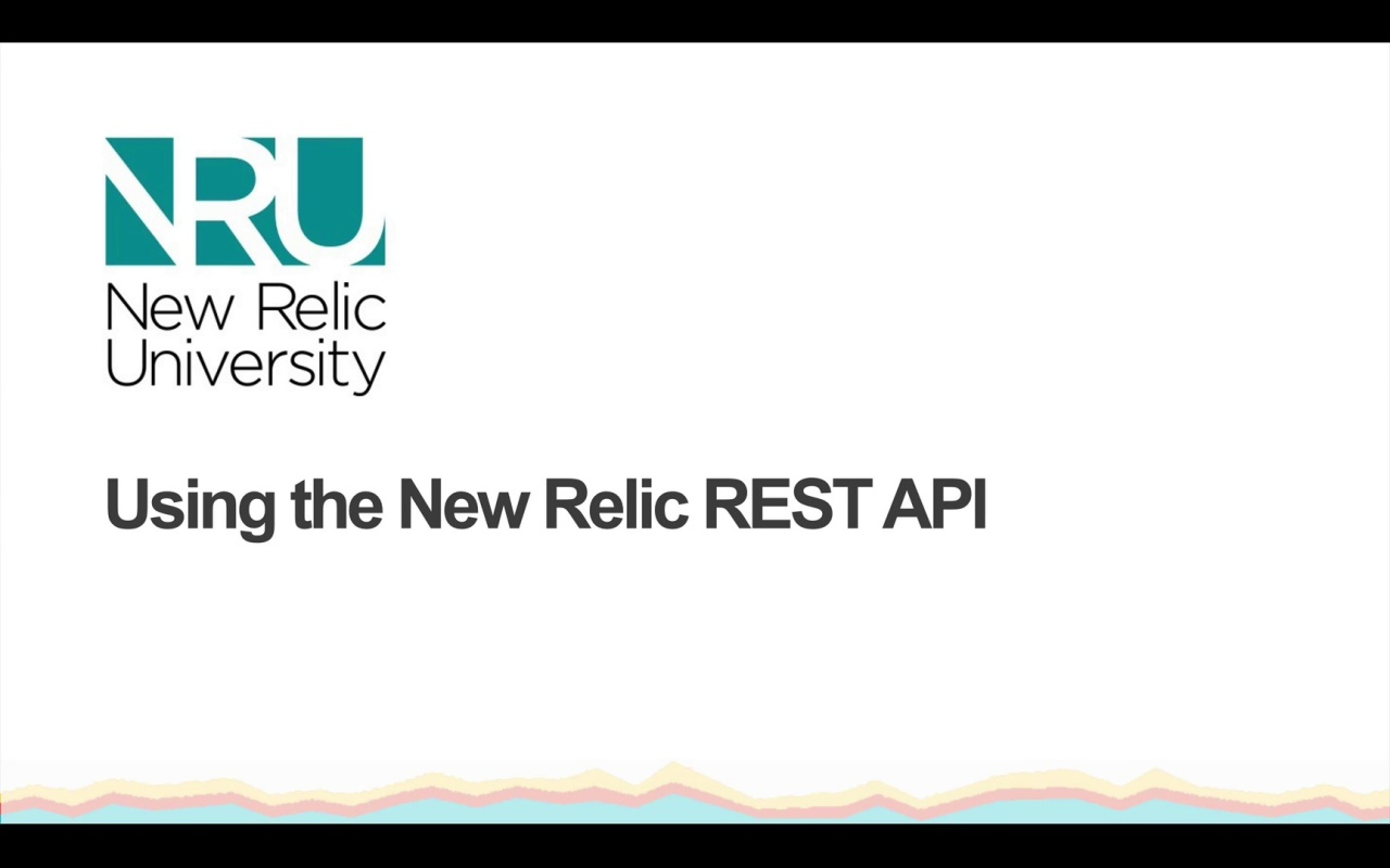 Using the REST API