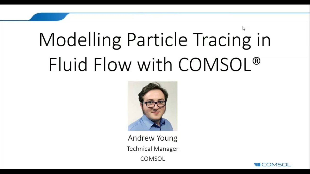 Simulating Particle Tracing in Fluid Flow with the COMSOL® Software