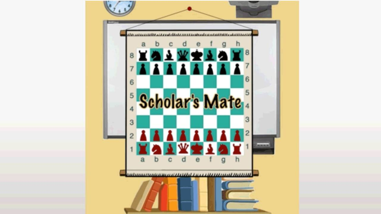 4 move checkmate scholar s mate how to win chess in 4 moves
